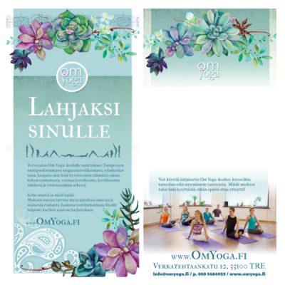 Lahjakortti Om Yoga -koululle