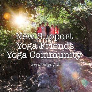 Yhteisöllisyys, ystävyys ja tuki
