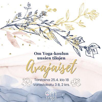 Om Yoga -koulun uusien tilojen avajaiset
