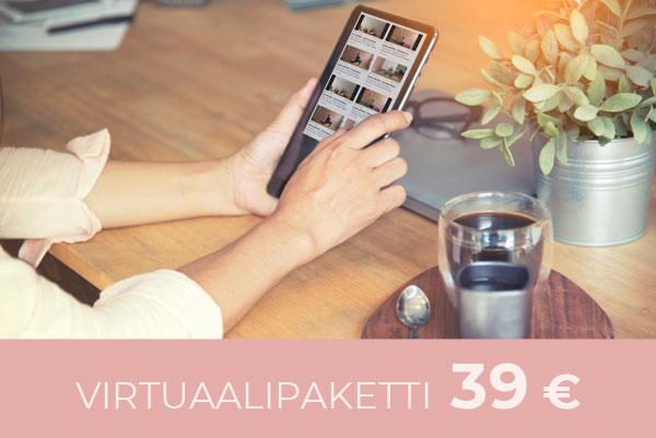 Tilaa virtuaalipaketti 39 €